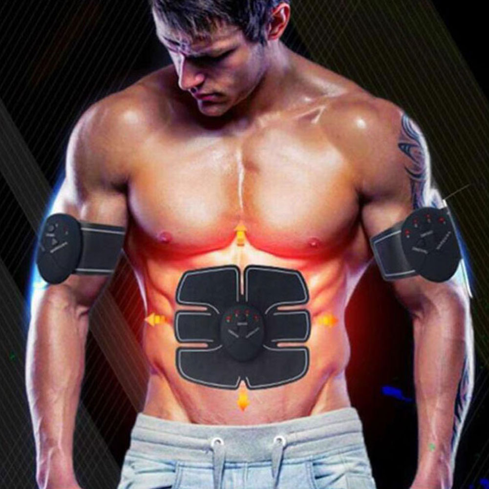 14pcs-Fitness-Massager-Hip-Arm-Trainer-Abdominal-Training-Wireless-EMS-Muscle-Stimulator-Set-Slimming-Belt-Weight