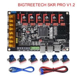 Image 1 - BIGTREETECH SKR PRO V1.2 плата управления 32 битная плата V SKR V1.3 TMC2208 TMC2209 TMC2130 части 3D принтера MKS Ramps 1,4 для Ender 3