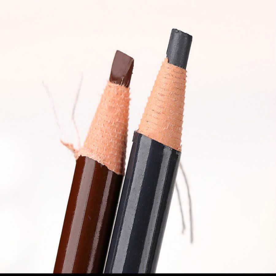 Lápis de sobrancelha profissional à prova d' água, tatuagem de longa duração para mulheres, 1 peça