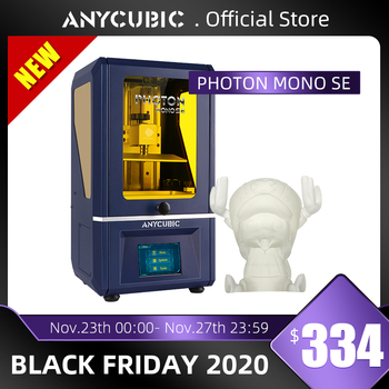 Newest ANYCUBIC Photon Mono SE 3D Printer APP Remote Control LCD UV 3D Printing High Speed Resin 3D Printers