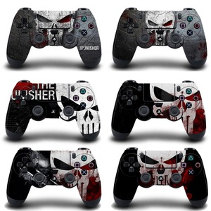 1pc The Punisher PS4 Skin Sticker Decal For Sony PS4 Playstation 4 Dualshouck 4 Game PS4 Slim Pro Controller Sticker Vinyl