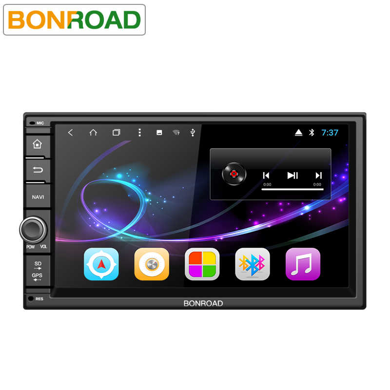 "Bonroad7 ""2Din Android 8.1Car Multimedia Speler Voor Nissan Gps Navigatie Radio Stereo Audio Player (Geen Dvd)"