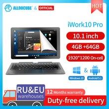 ALLDOCUBE iwork10 Pro 10.1 pollici windows 10 android5.1tablet PC IPS 1920*1200 Intel Atom 4GB RAM 64GB ROM Tablet per l'apprendimento