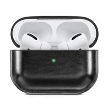 Case-Cover Earphone Black for Pro Front LED Visible Shockproof Compatible