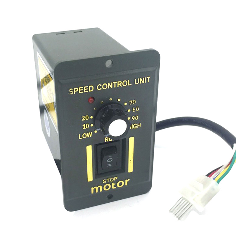 Single Phase AC 220V <font><b>Motor</b></font> Speed <font><b>Controller</b></font> 6/15/25/40/60/90/120/200/<font><b>250W</b></font> Adjust Speed Forward Reverse For AC <font><b>Motor</b></font> Control image