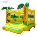 Детский надувной батут в джунглях  прыгающий дом  надувной замок