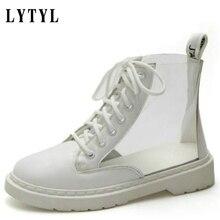 여성 캐주얼 PVC 투명 플랫폼 스니커즈 신발 여성 학생 패션 캔버스 가을 운동화 여성 크리퍼 A0 01