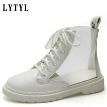 Womens casual PVC Transparent Platform Sneaker Shoes Female Student Fashion Canvas  autumn Sneakers Woman creepers A0 01