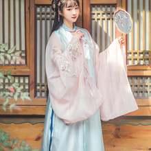 Цветочный традиционный костюм Тан в древнем китайском стиле
