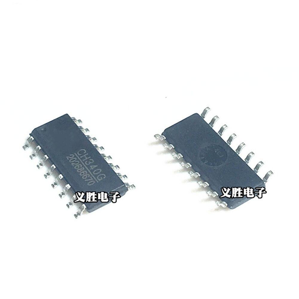2 шт., USB-чип CH340B CH340C CH340G CH440G CH444G CH551G CH552G CH554G CH9326 CH9328 CH9329 SOP16