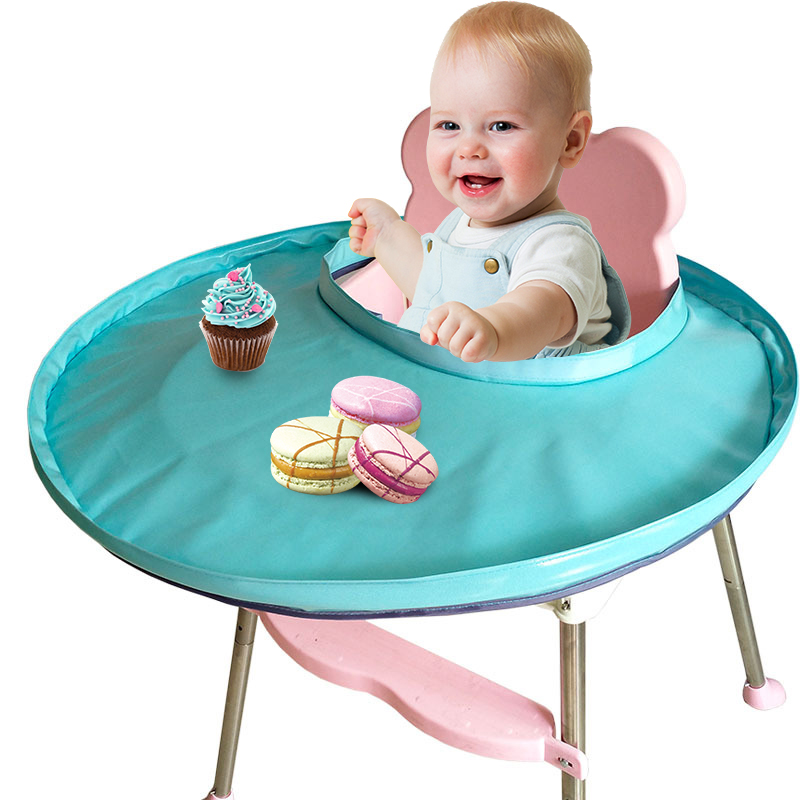 Baby Chair Food Children's Cover For Highchair Portable Chair For Feeding Heighten Dining Chairs For Babies Foldable Kids Tray