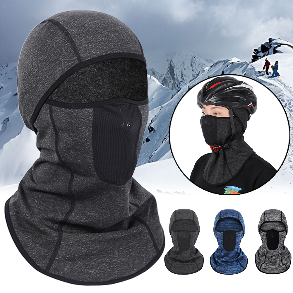 Smart Elastic Fleece Fabric Winter Breathable Face Mask Motorcycle Riding Hood Windproof Cold Balaclava Face Shield Outdoor Complete In Specifications