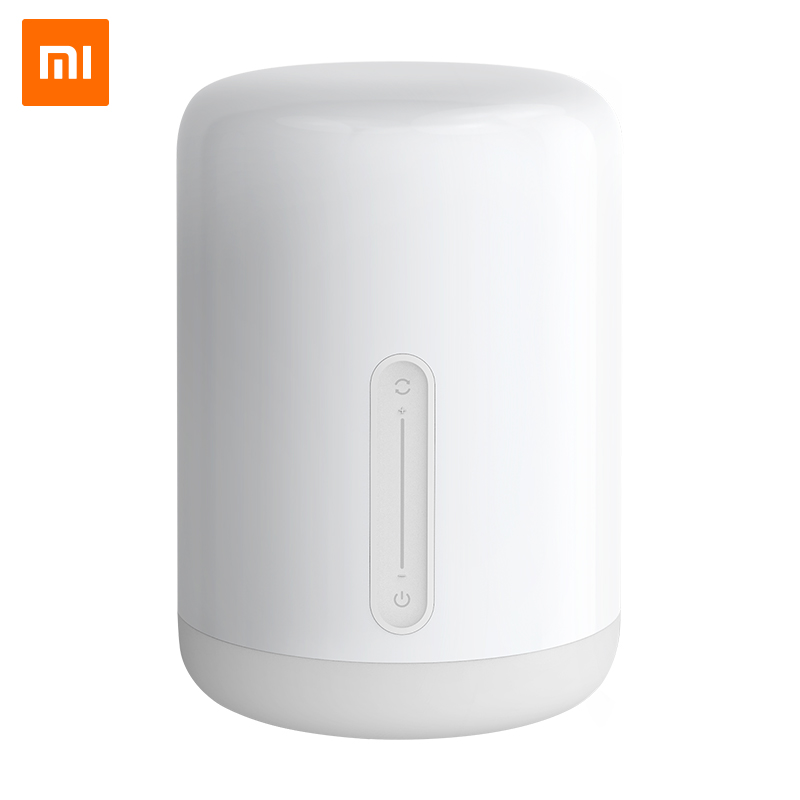 Xiaomi Home Bedside Lamp 2 Bedroom College Dormitory Home Desk Creative Smart Table Lamp Small Night Light Wall Lamp   - title=