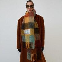 Ac Scarf Cashmere Sacrf Women Winter Scarf Men Designer Luxury Blanket Scarves Women 2019 Brand Scarfs For Ladies Shawls