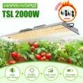 Mars Hydro TSL 2000W полный спектр Led Grow Light Veg Flower Plant + крытый Набор для выращивания палаток расческа мульти-размер