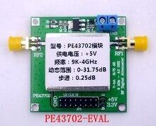 PE43702 9K ~ 4 ГГц 0.25dB пошаговый точный 31.75dB цифровой RF аттенюатор модуль