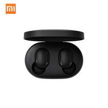 Xiaomi Redmi Airdots Mini Dual V5.0 Nirkabel Earphone Bt Earphone 3D Suara Stereo Earbud dengan Dual Microphone Pengisian Kotak(China)