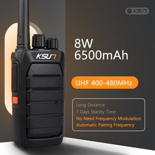 Ksun poderoso walkie talkie combinar automaticamente freqüência cb estação de rádio uhf transceptor longo alcance walkie talkie