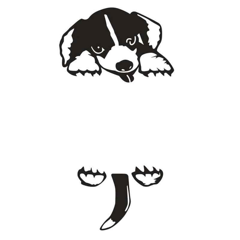 DIY מצחיק חמוד שינה חתול כלב מתג מדבקות קיר מדבקות מדבקות עיצוב הבית סלון חדר שינה סלון קישוט