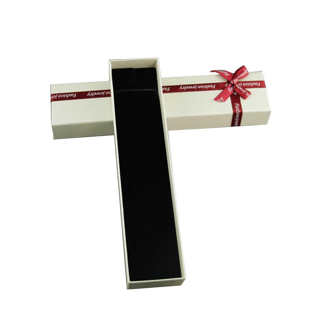 Joyería para mujer regalo caja de embalaje anillo pendientes pulsera collar organizador