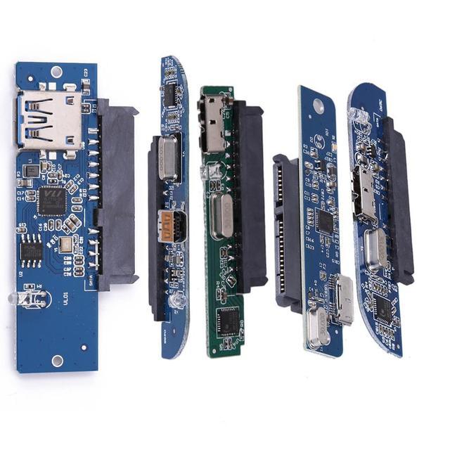 """5GBps Übertragung Geschwindigkeit USB 3,0 Zu 2.5 """"SATA 7 + 15Pin Festplatte Adapter Für SATA 3,0 SSD & HDD Maximale unterstützung 3TB festplatte"""