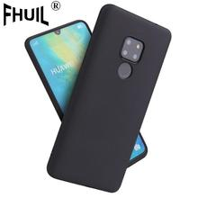 Matte Silicone phone cases for Huawei P8 lite 2017 P9 P10 P20 Pro Nova 3 3i Honor 6A X Honor 8 9 Mate 10 honor case back cover phone cases for huawei p20 p10 p9 p8 lite pro 2017 nova 3i 3e 3 p smart plus mate 20 pro honor view 20 v10 10 v9 9 8 lite 6x 6a