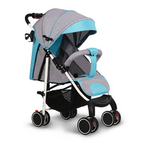 2019 New comfortable simple baby stroller electric lightweight easy care baby stroller