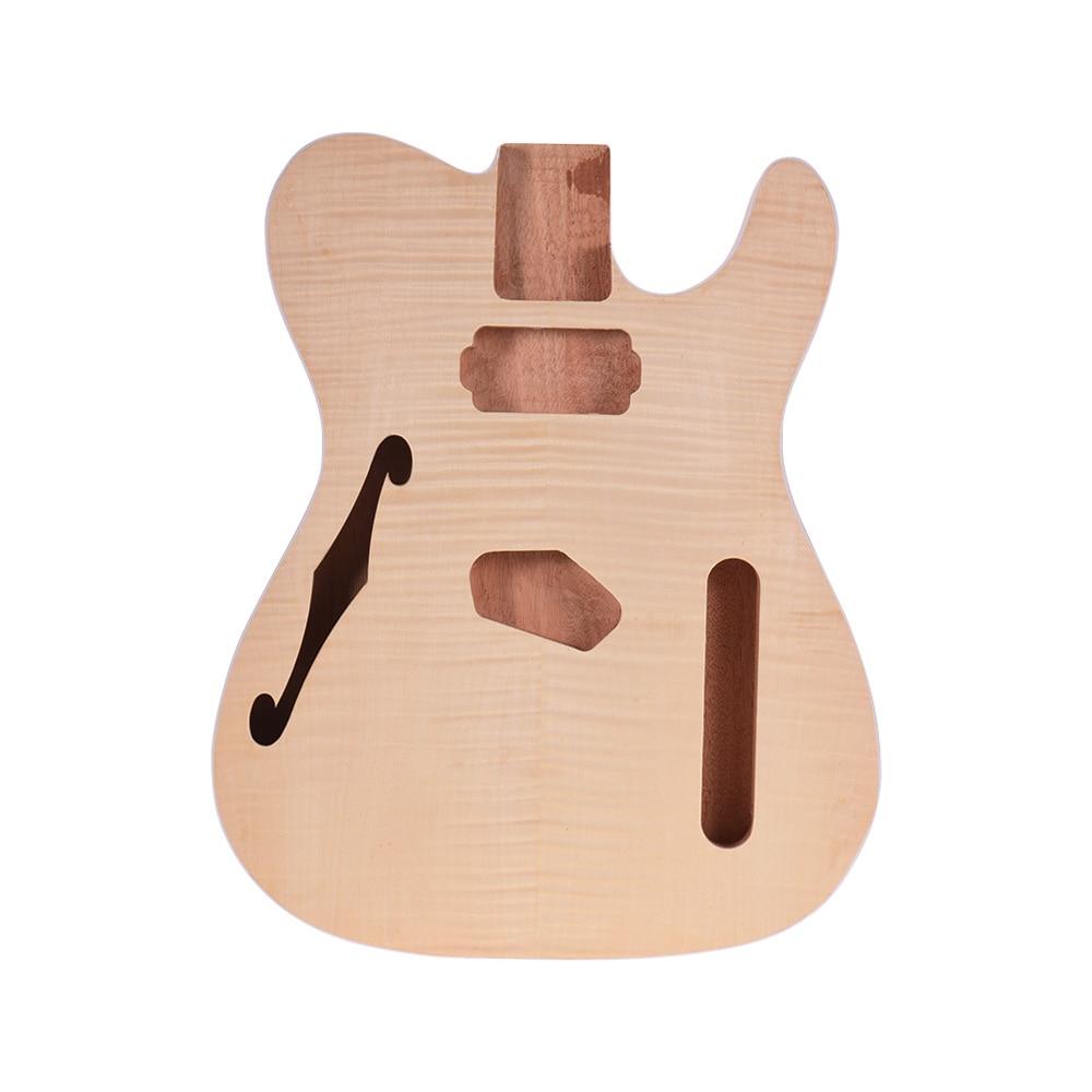 Muslady TL-FT03 inacabado corpo da guitarra mogno madeira em branco barril guitarra para tele estilo guitarra elétrica diy acessórios