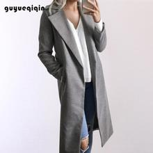 brand coat wool women long peacoat winter warm cashmere woman coats autumn 2019