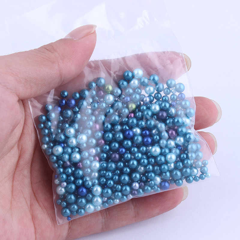 20 グラム/バッグカラフルな真珠 Acccessories スライムビーズフィラー添加剤スライダーポリマー粘土金型 Playdough DIY クリームのり泥材料