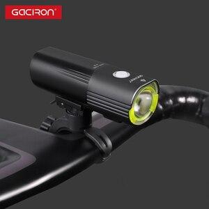 Image 5 - Головной фонарь GACIRON велосипедный, водонепроницаемый, 1000 лм