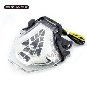 Image 3 - LED para YAMAHA MT 07 FZ 07 14 17, MT 25 YZF R3 R25 2013 2018 LED integrado indicador de señal de giro trasera moto B