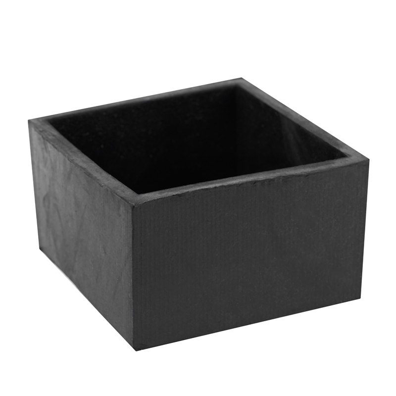 Hot Sale Rubber Furniture Chair Table Leg Square Foot Cover Protectors 50x50mm Black