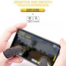 1 пара напальчников для мобильного чувствительного игрового