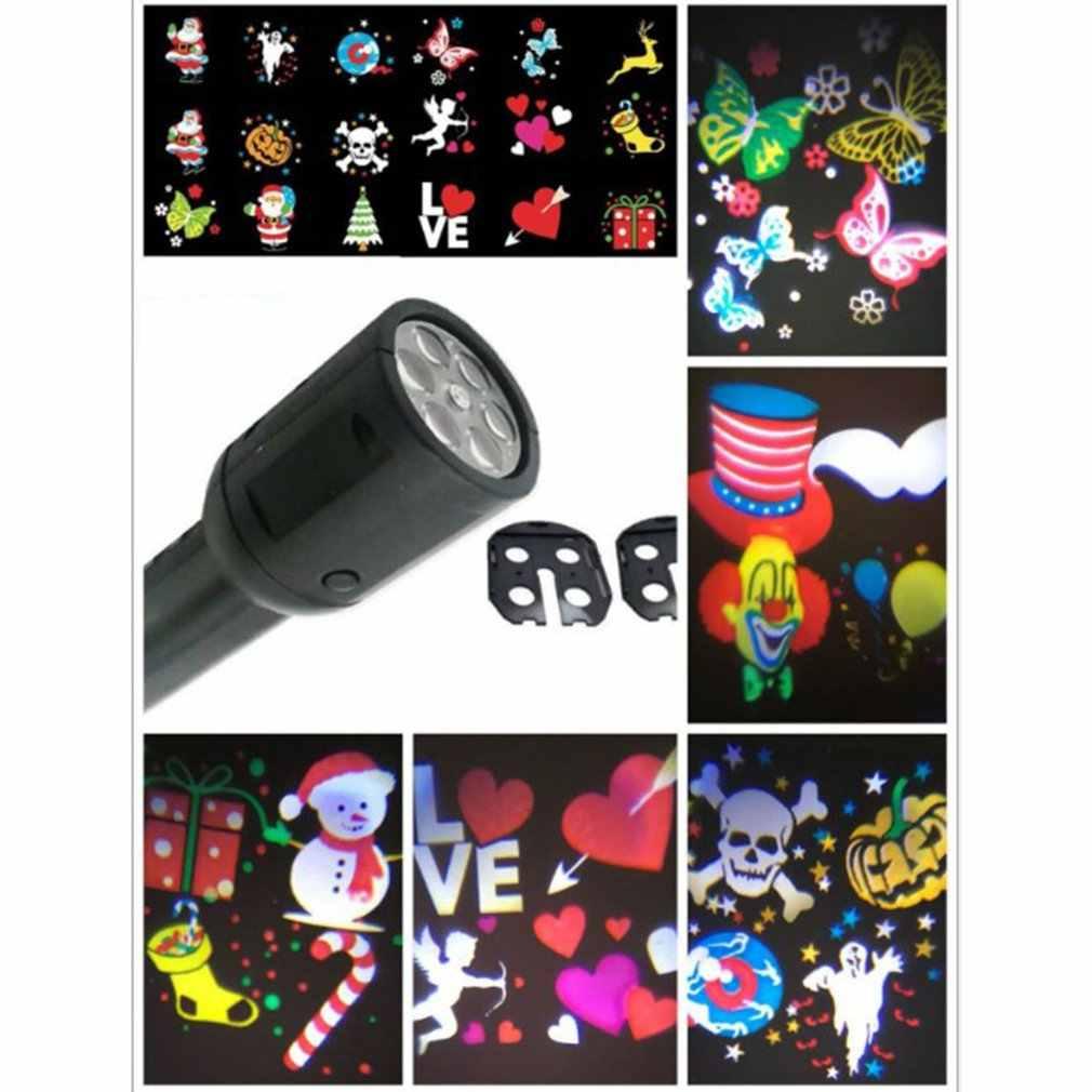 Nacht Licht Sterne Mond Projektion Lampe Stern Licht Projektor LED karte 360 Grad Rotierenden innen dekoriert für KTV bar Geburtstag