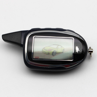 Remoto LCD para magicar Scher khan M7 7 em dois sentidos LCD Sistema de Alarme Do Carro de controle remoto Chave Fob Chaveiro sher khan magicar|Alarme de assaltante| |  -