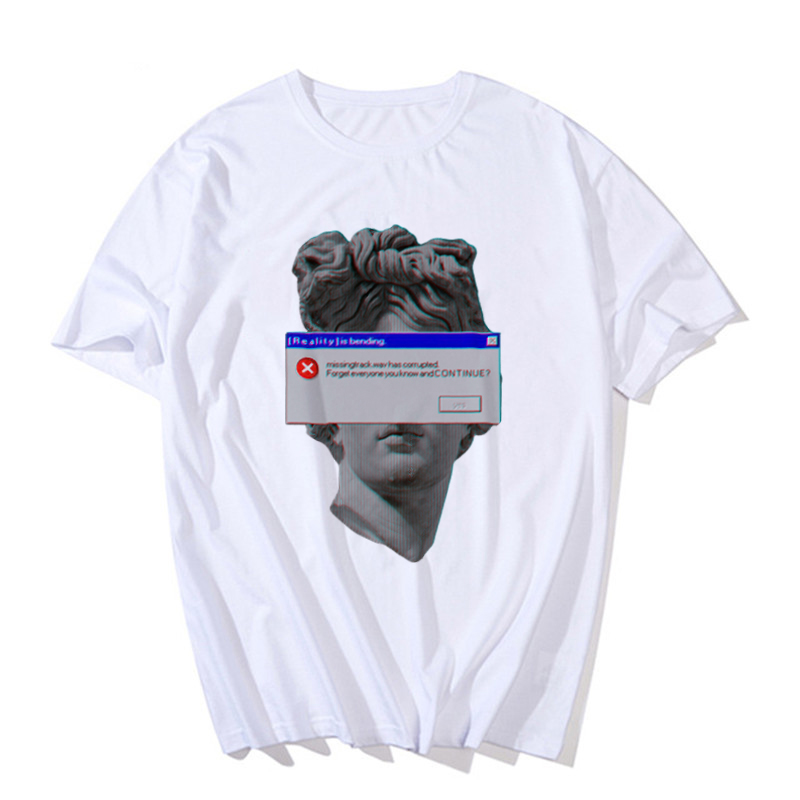 Hd0d5037a39b8438fac1323ec478f9011m - Men's tshirt Funny Michelangelo Statue David Print Vaporwave Short Sleeve t shirt Harajuku Casual streetwear T-shirt men Top Tee