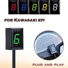 Gear Display Indicator For Kawasaki ER6N Z1000SX Ninja300 Z1000 Z800 Z750 versys 650 Z400 Motorcycle Ecu Direct Mount 1 6 Speed