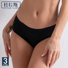 Sexy Black Four-layerLeakproof Woman Menstrual Underwear Girl Period Dedicated DULASI