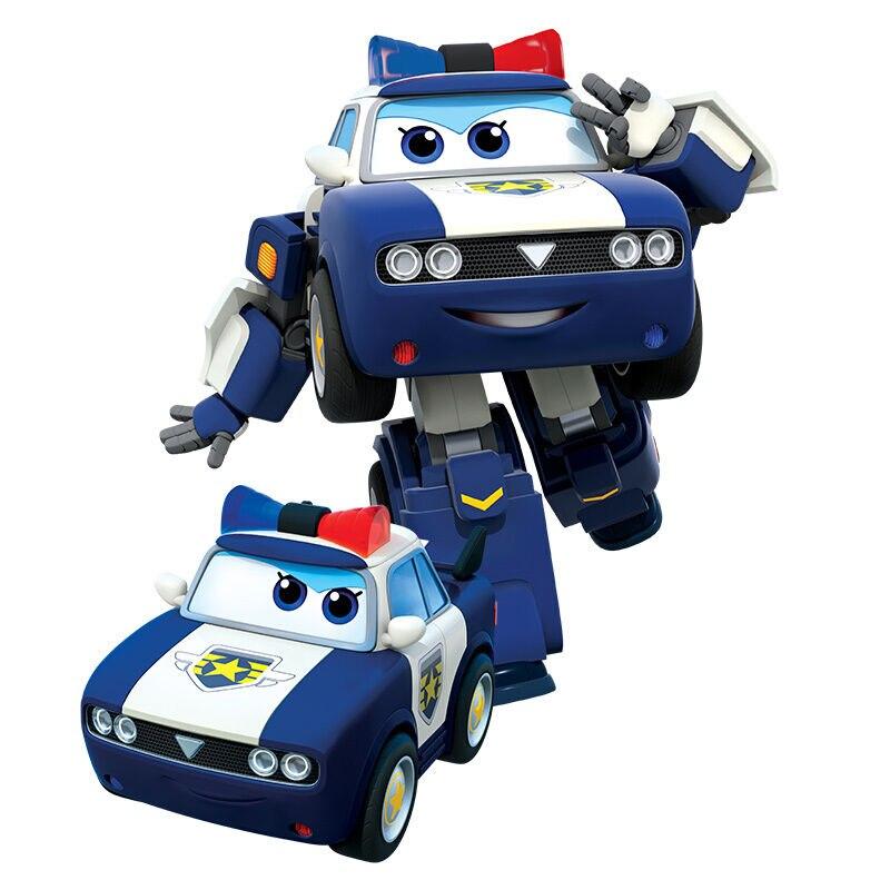 Большой! 15 см ABS Супер Крылья деформация самолет робот фигурки Супер крыло Трансформация игрушки для детей подарок Brinquedos - Цвет: No Box Kim