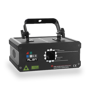 Image 2 - Alien 500 Mw 1W Rgb Full Color Animatie Laser Projector Dmx Beam Scanner Dj Disco Party Holiday Bar Xmas podium Verlichting Effect