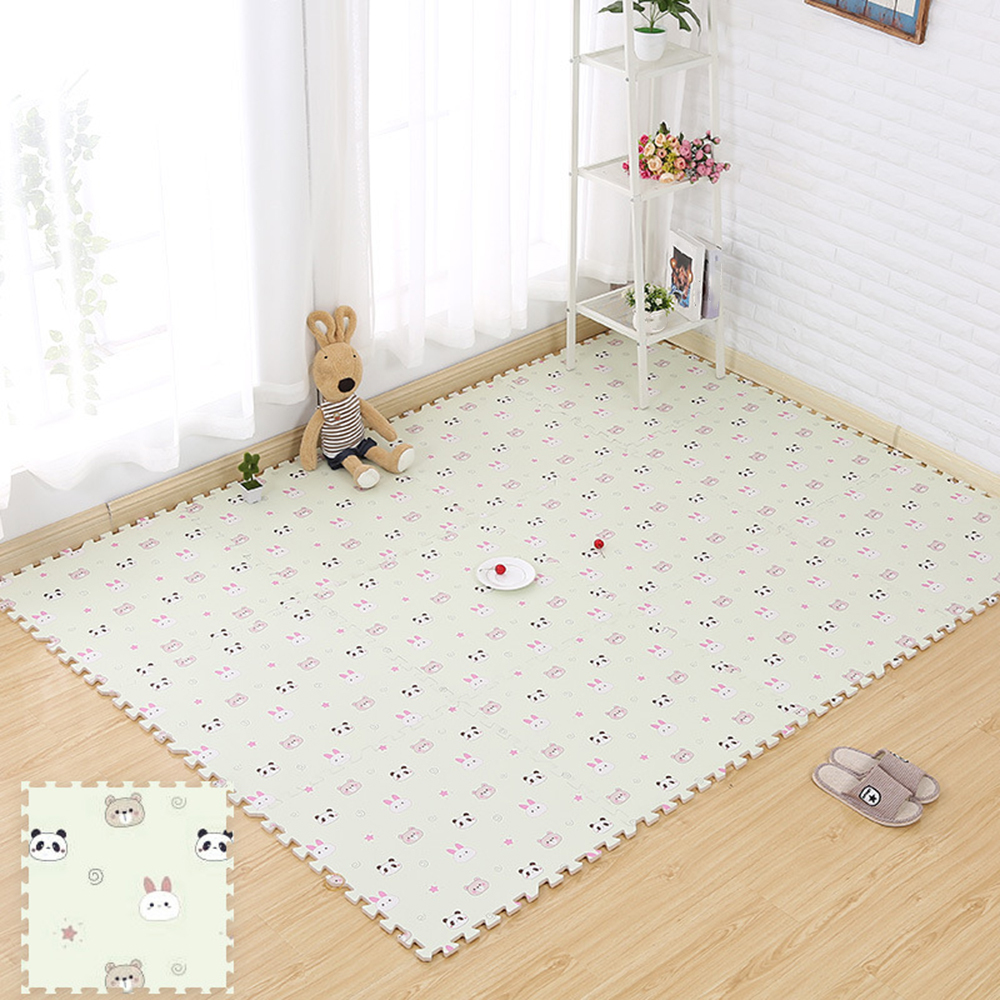 8Pcs Baby-Play-Mat  Puzzle Play Foam Floor Mat Pad Game Gym Carpet Crawling Rug Soft Eco-friendly PP Materials Mat 30 X 30cm