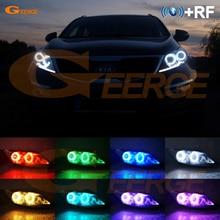 Rf Afstandsbediening Bluetooth App Multi color Ultra Bright Rgb Led Angel Eyes Kit Voor Kia Sportage Sl 2010 2011 2012 2013 2014 2015