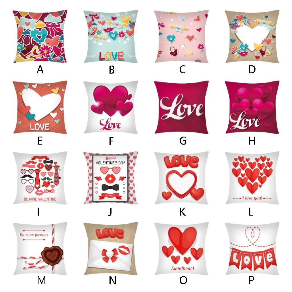 Cuscini Love.Ouneed Creative Cartoon Sweet Love Decorative Pillowcases 45 45