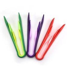 3 шт. портативный пластиковый зажим для еды с нескользящей ручкой бытовой зажим для овощей фруктов кухонные аксессуары зажим для выпечки хлеба