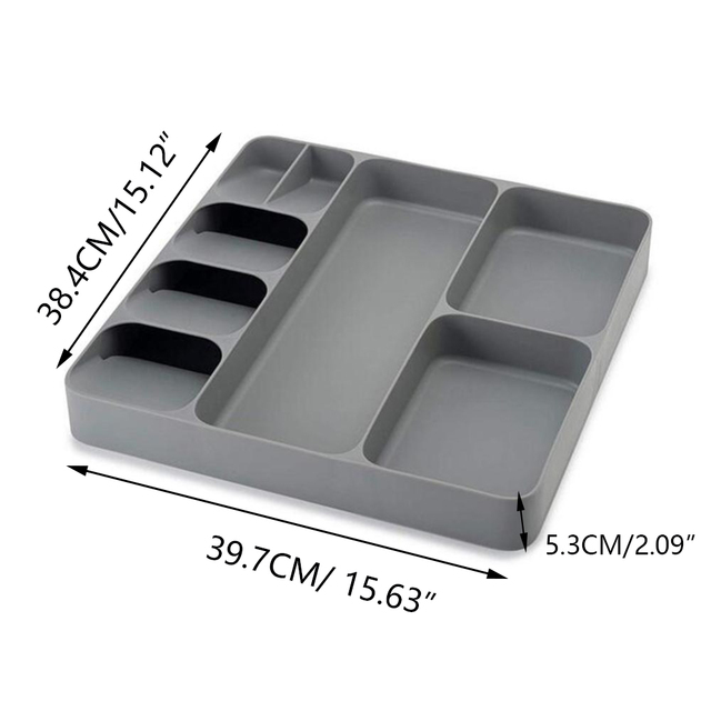A tray for storing cutlery 6