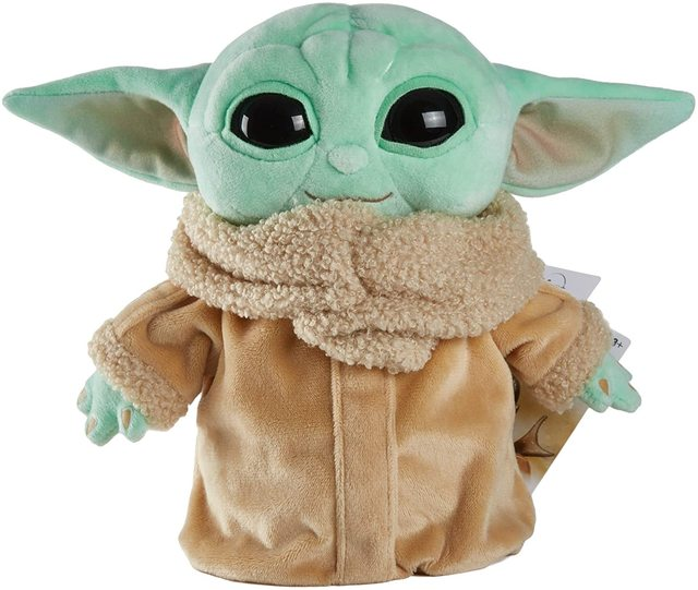 Disney Original 21CM BABY YODA Plush Doll Toys Hobbies Soft Stuffed Animals Stuffed Plush for Children Christmas Gift 1