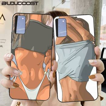 CUCI Sexy Hot Girl Summer Twerk It Swag Phone Case for Samsung S20 plus Ultra S6 S7 edge S8 S9 plus S10 5G lite 2020 image