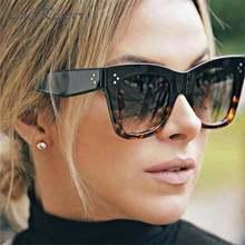 2020 квадратные солнцезащитные очки женские большого размера