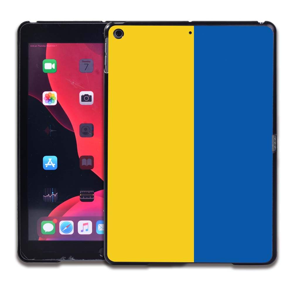13.Ukrainian flag Salmon Pink Tablet Hard Back for Apple IPad 8 2020 8th Gen 10 2 A2270 A2428 Z2429 Z2430